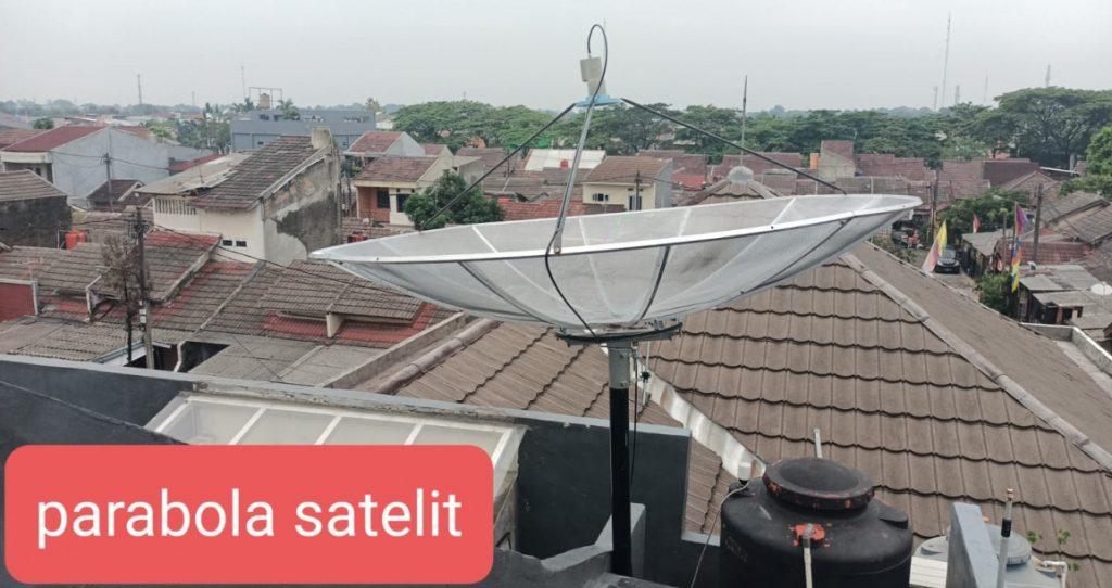 parabola 2 satelit